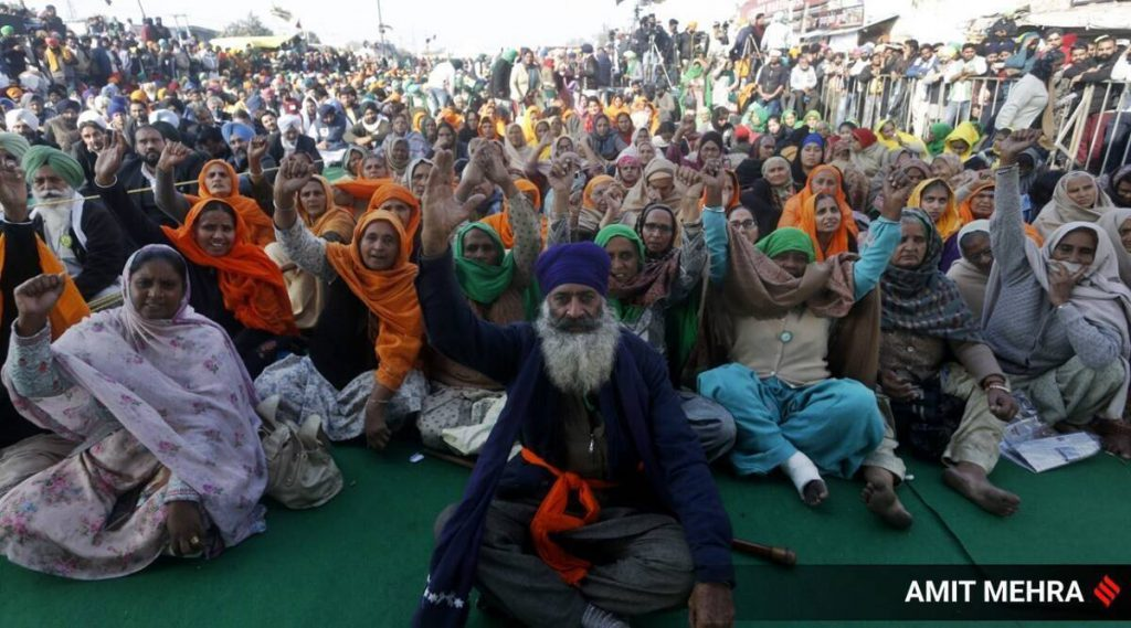 Capt Amarinder Singh farmers protests