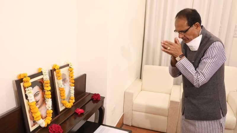 मुख्यमंत्री श्री चौहान ने अमर शहीद चंद्रशेखर आजाद एवं नानाजी देशमुख को श्रद्धांजलि दी