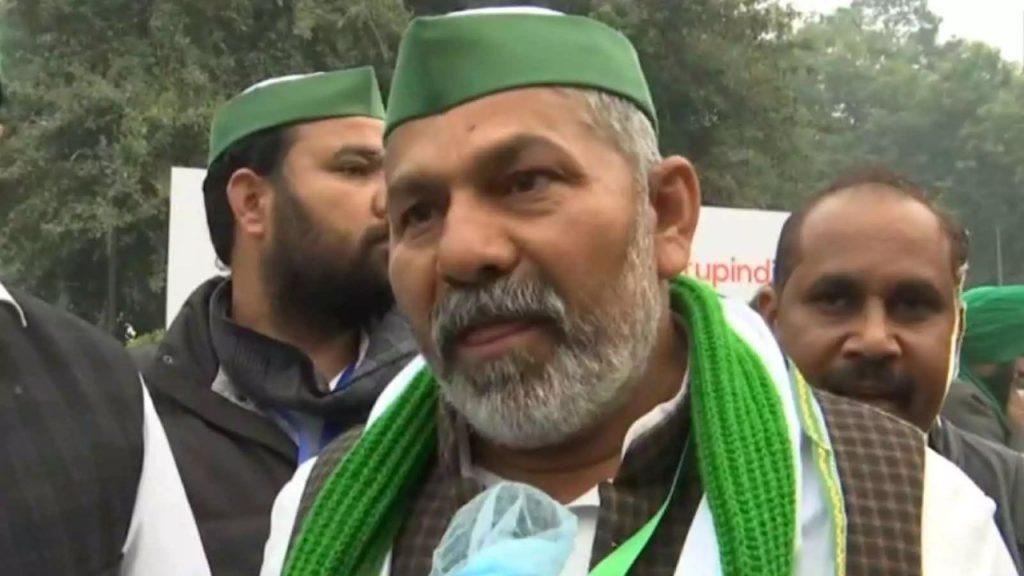 राकेश टिकैत ने 40 लाख ट्रैक्टर के साथ संसद को 'ट्रैक्टर रैली' की धमकी दी