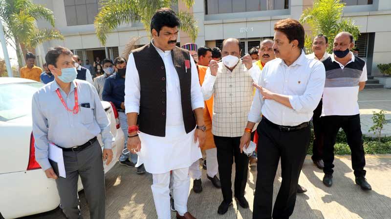 सभी संभाग मुख्यालयों में बनाये जायेंगे अत्याधुनिक आरटीओ भवन-परिवहन मंत्री श्री राजपूत