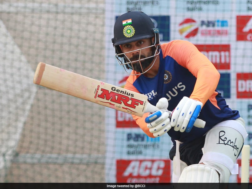 India vs England: Team India Practice Under The Lights Ahead Of Day-Night Test. See Pics