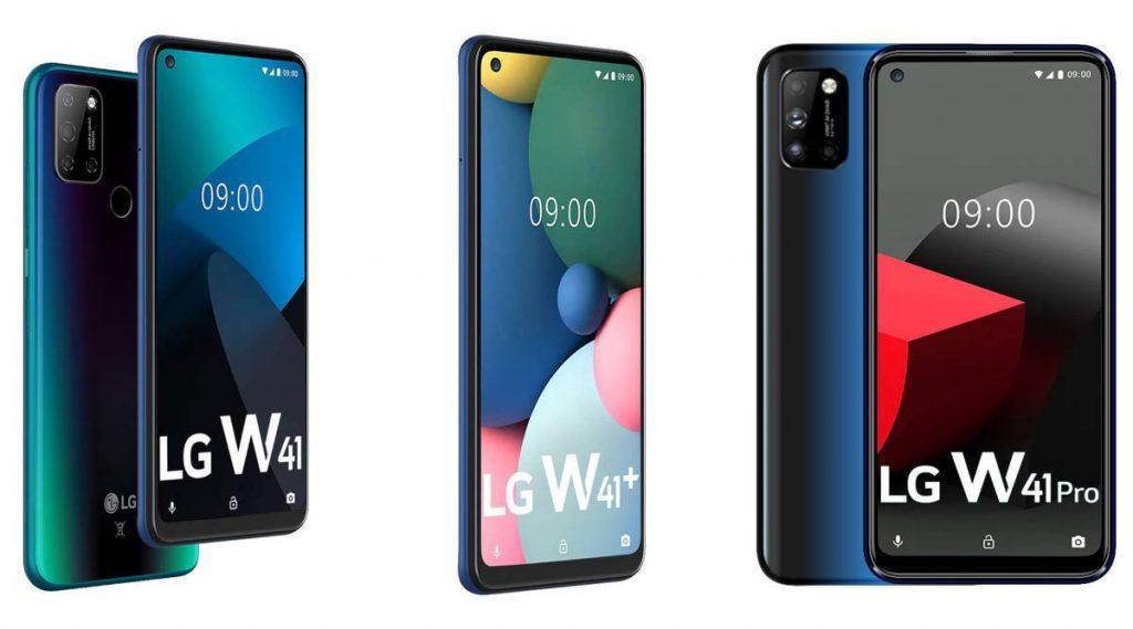 LG, LG W41, LG W41 Pro, LG W41+,