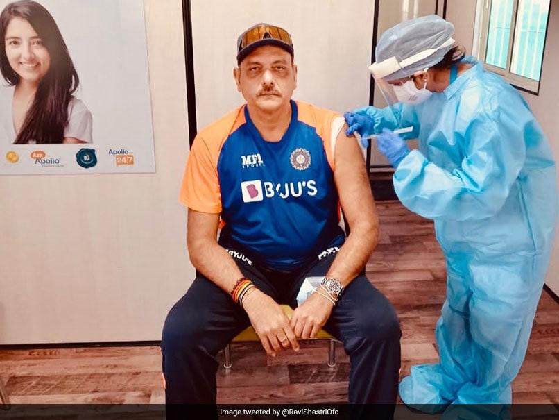 Ravi Shastri Gets First Dose Of COVID-19 Vaccine