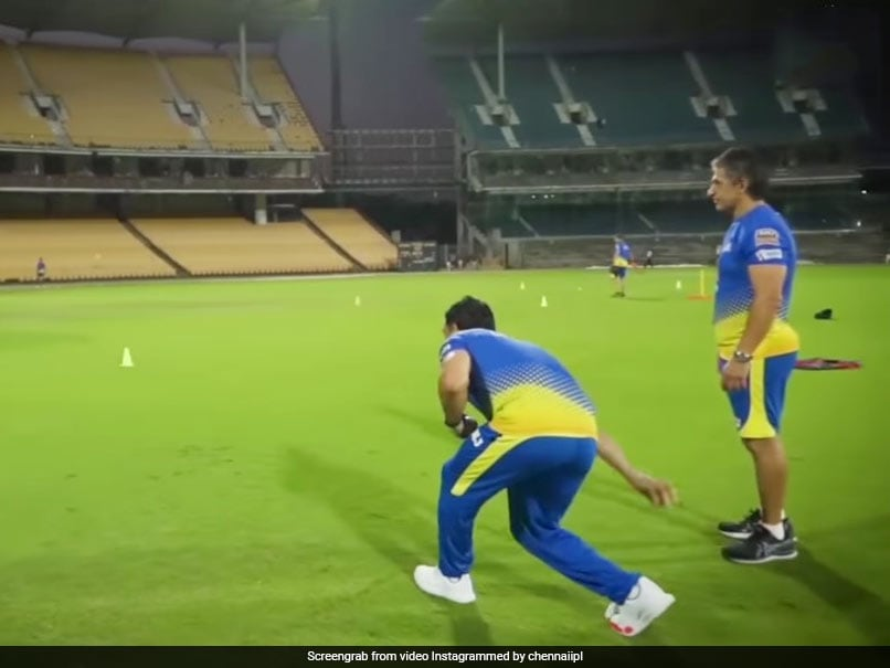 IPL 2021: MS Dhoni, CSK Physio Try Their Hand At Italian Game. Watch