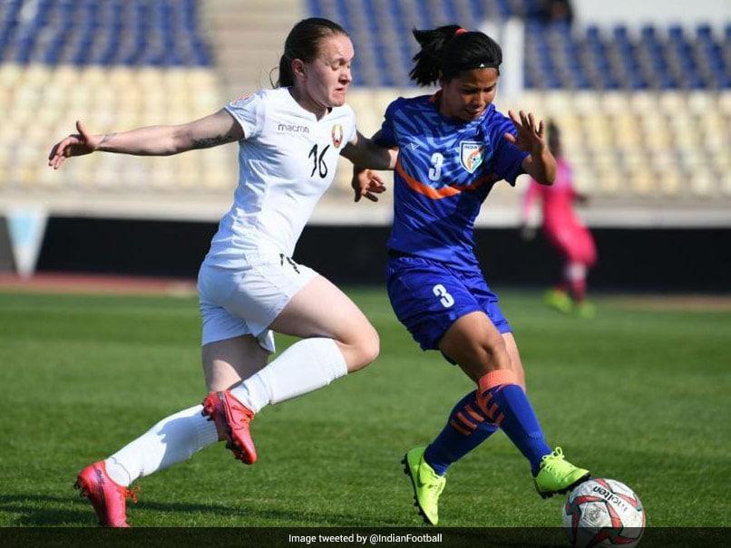 Indian Womens Football Team Suffer Narrow 1-2 Defeat vs Belarus