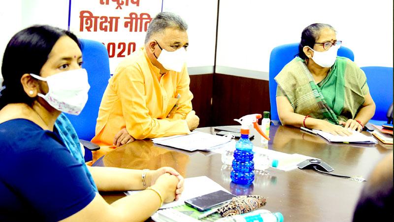 राष्ट्रीय शिक्षा नीति का लक्ष्य भारत को वैश्विक ज्ञान की महाशक्ति बनाना हैं: राज्य मंत्री श्री परमार