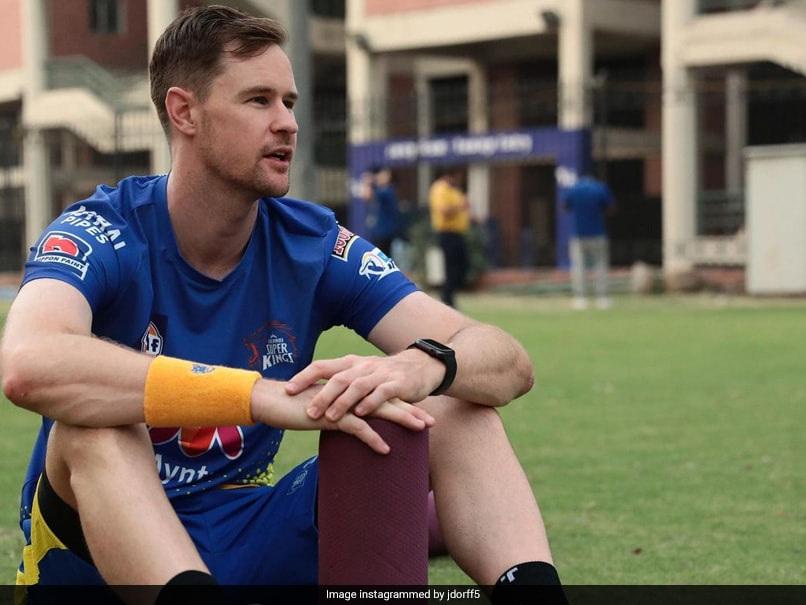 IPL 2021: Chennai Super Kings Jason Behrendorff Donates To UNICEF Project For India COVID-19 Crisis