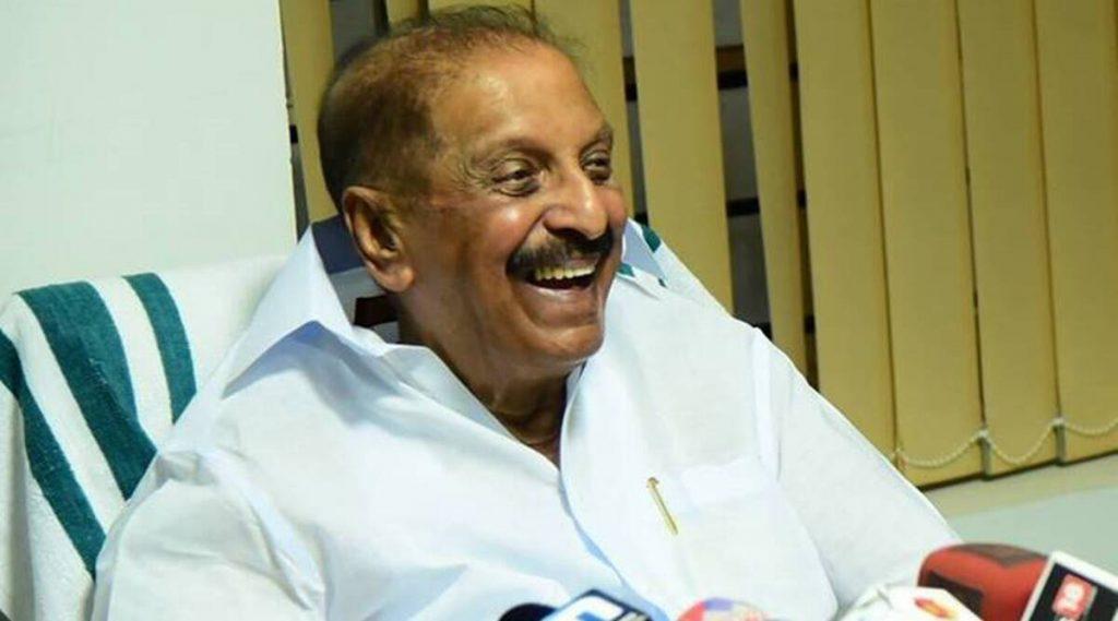 केरल के पूर्व मंत्री आर बालकृष्ण पिल्लई का निधन