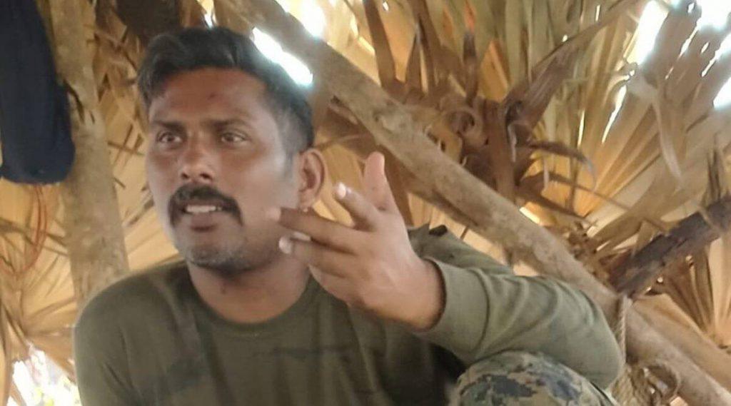 Maoists release CRPF jawan, CRPF jawan Maoist custody, chhattisgarh maoist attack, Rakeshwar Singh Manhas, cobra unit CRFP, jawan Manhas released, indian express