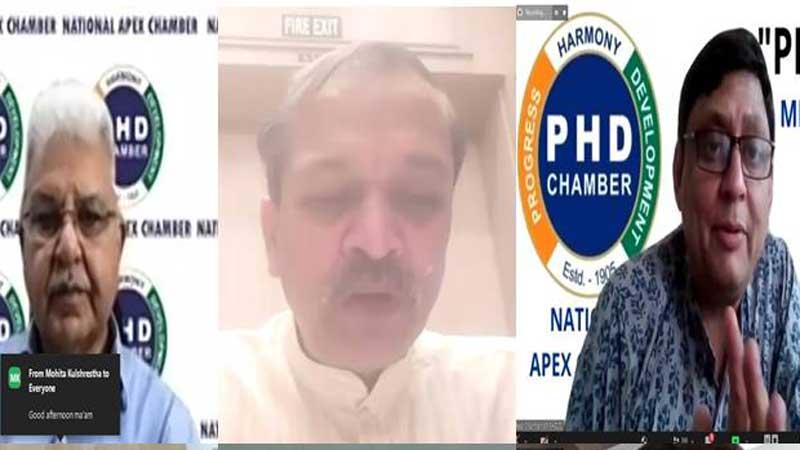 पीएचडी चैम्बर द्वारा टीका उत्सव पर ऑनलाइन कार्यक्रम