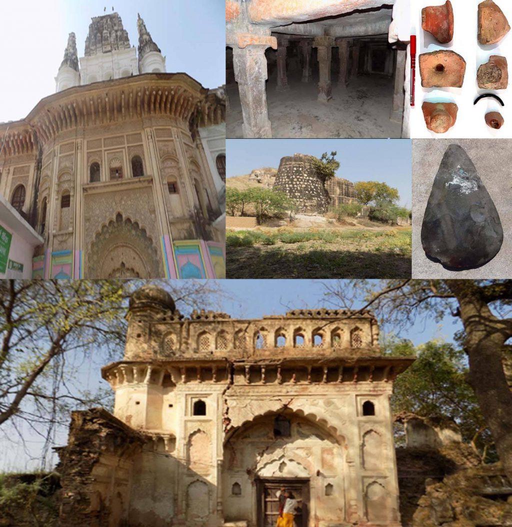 बुंदेलखंड क्षेत्र के हमीरपुर में पाषाण काल के औजार-अवशेष और बौद्ध काल से पहले की सभ्यता मिली