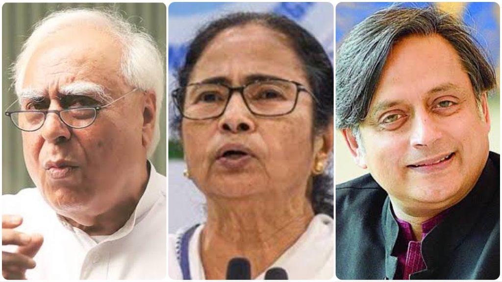 कांग्रेस नेता ममता बनर्जी की जीत का जश्न मनाते हैं जबकि उनके अपने कैडर टीएमसी की हिंसा का सामना करते हैं