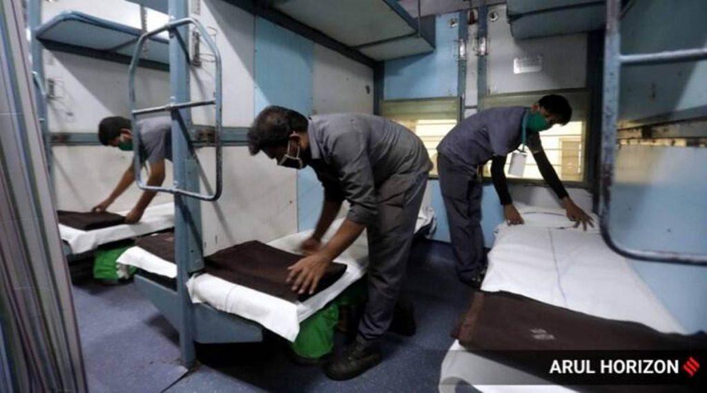 रेलवे ने कोविद के कोच में 146 को भर्ती किया, जिसमें 66 का इलाज किया गया