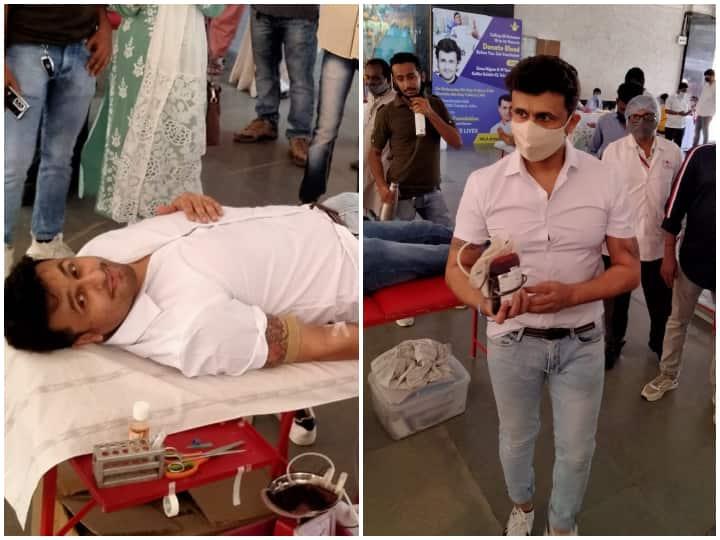 सोनू निगम ने कोरोनासिस के बीच किया रक्त दान, लोगों की मदद के लिए आगे के लिए लगाई गुहार